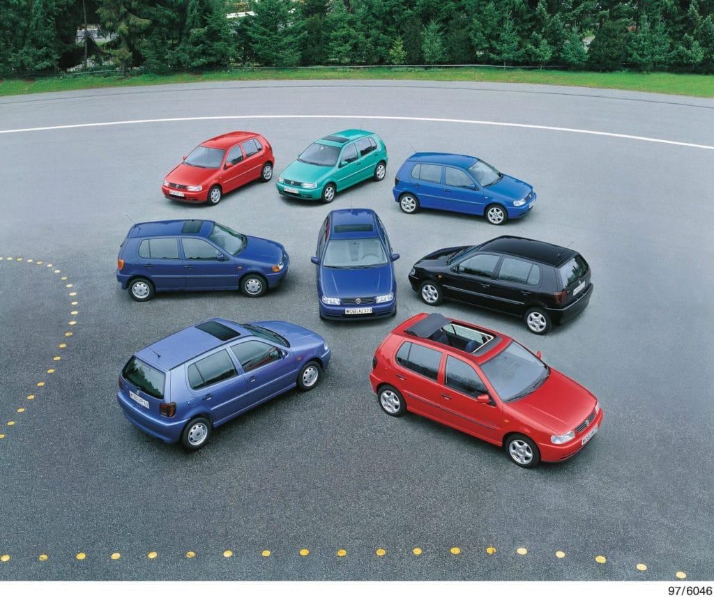 Der VW Polo in unterschiedlichen Varianten