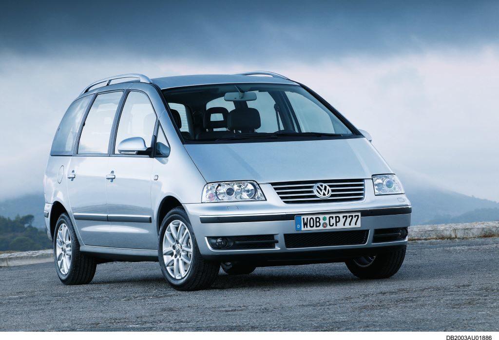 VW Sharan Typ 7M6