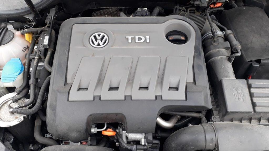 Inspektion bei einem VW Golf 6 TDI