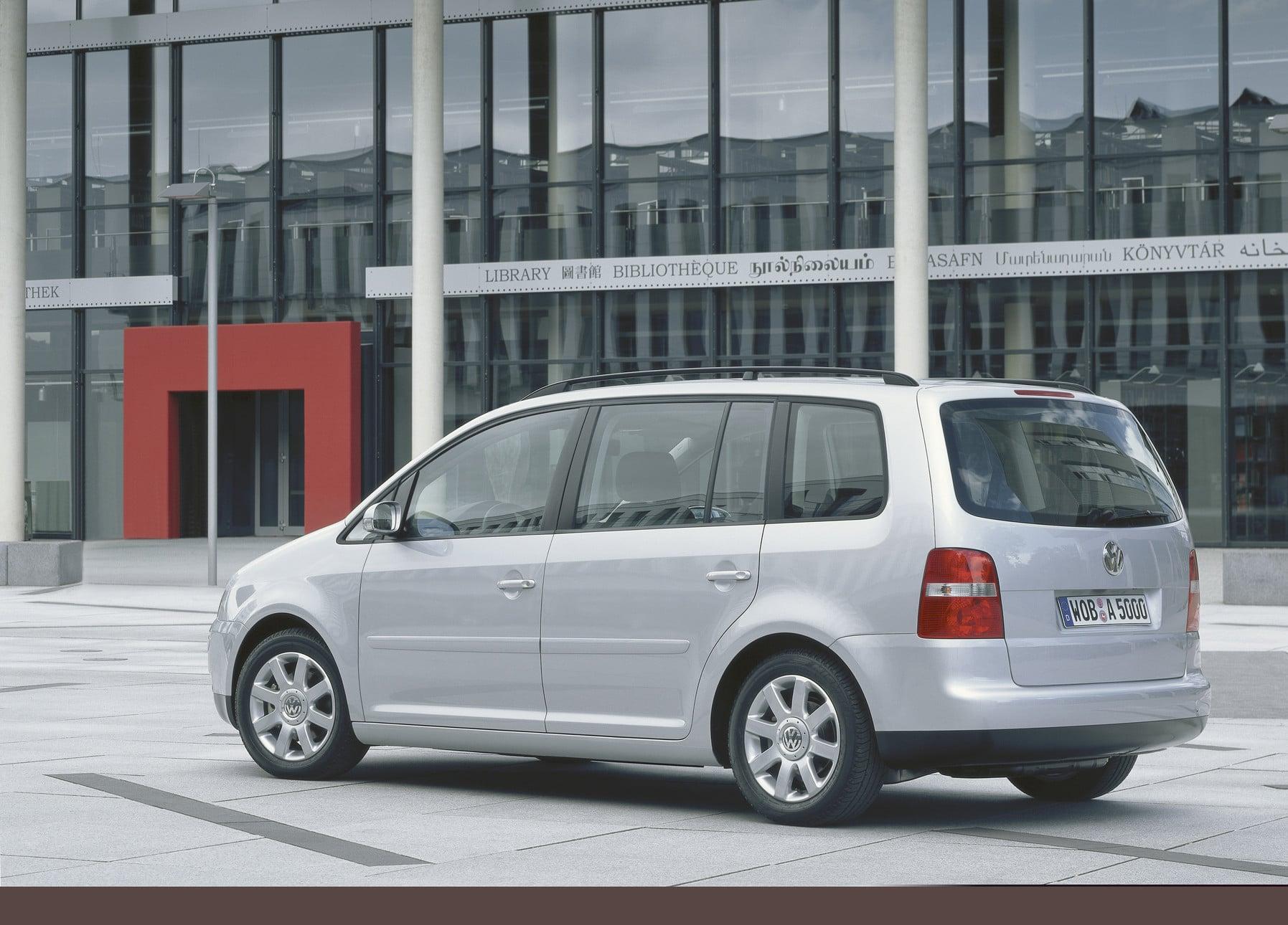 Inspektion bei einem VW Touran 1T1