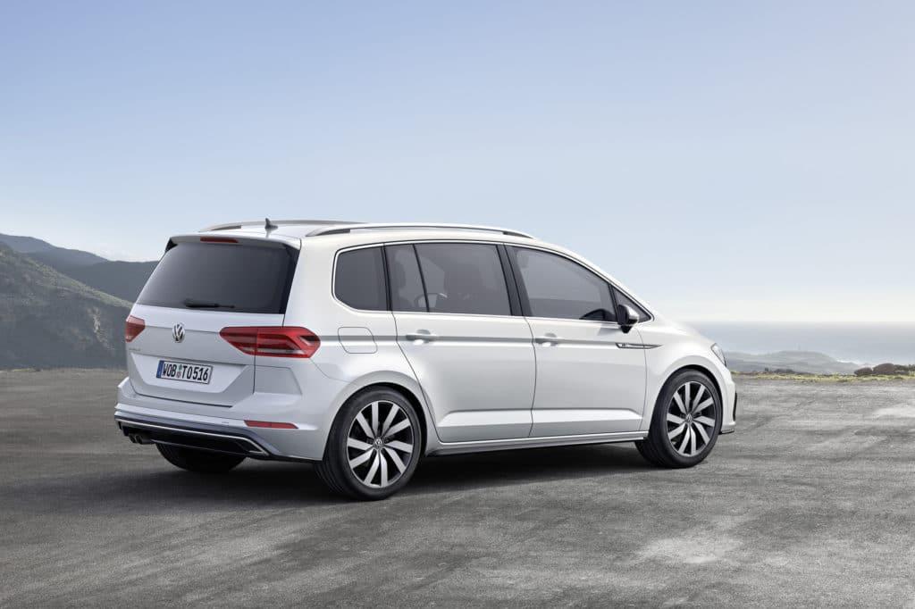 Inspektion bei einem VW Touran II