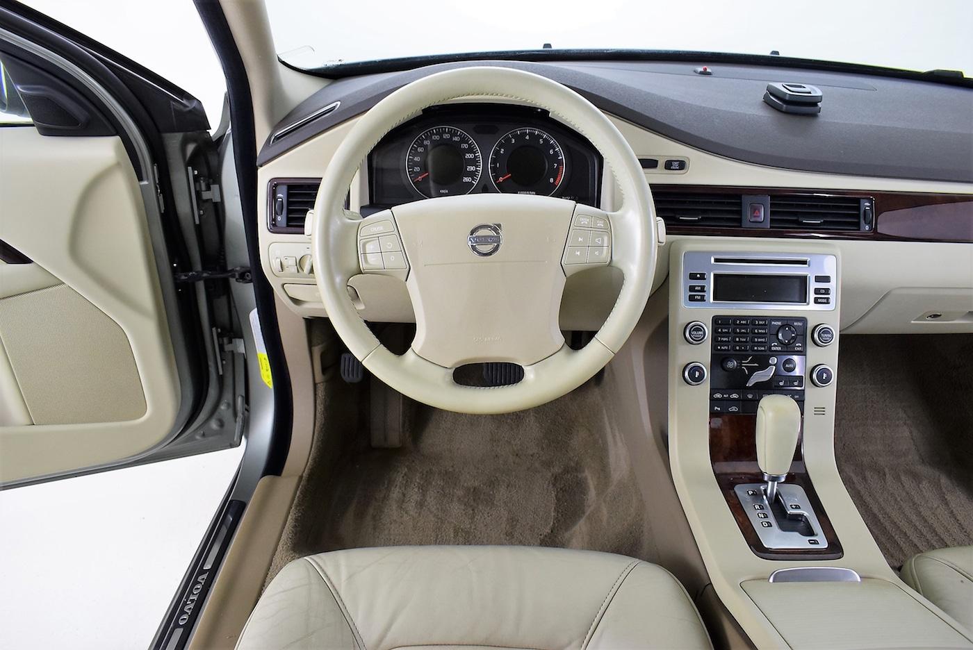 Ölwechsel bei dem Volvo S80