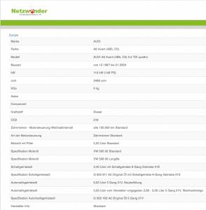 Werkstattportal.org Datenbasis