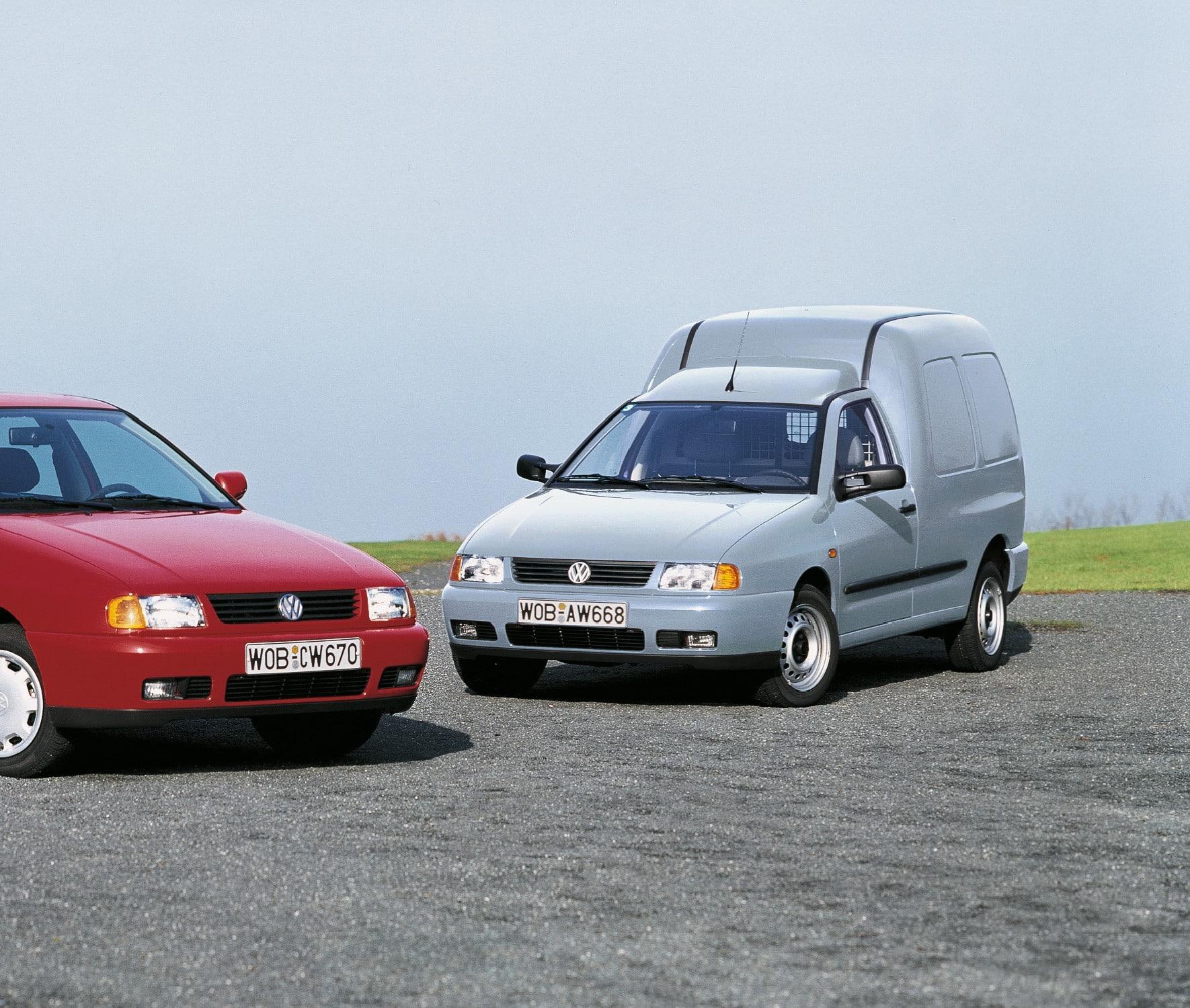 Inspektion bei einem VW Caddy II 1995