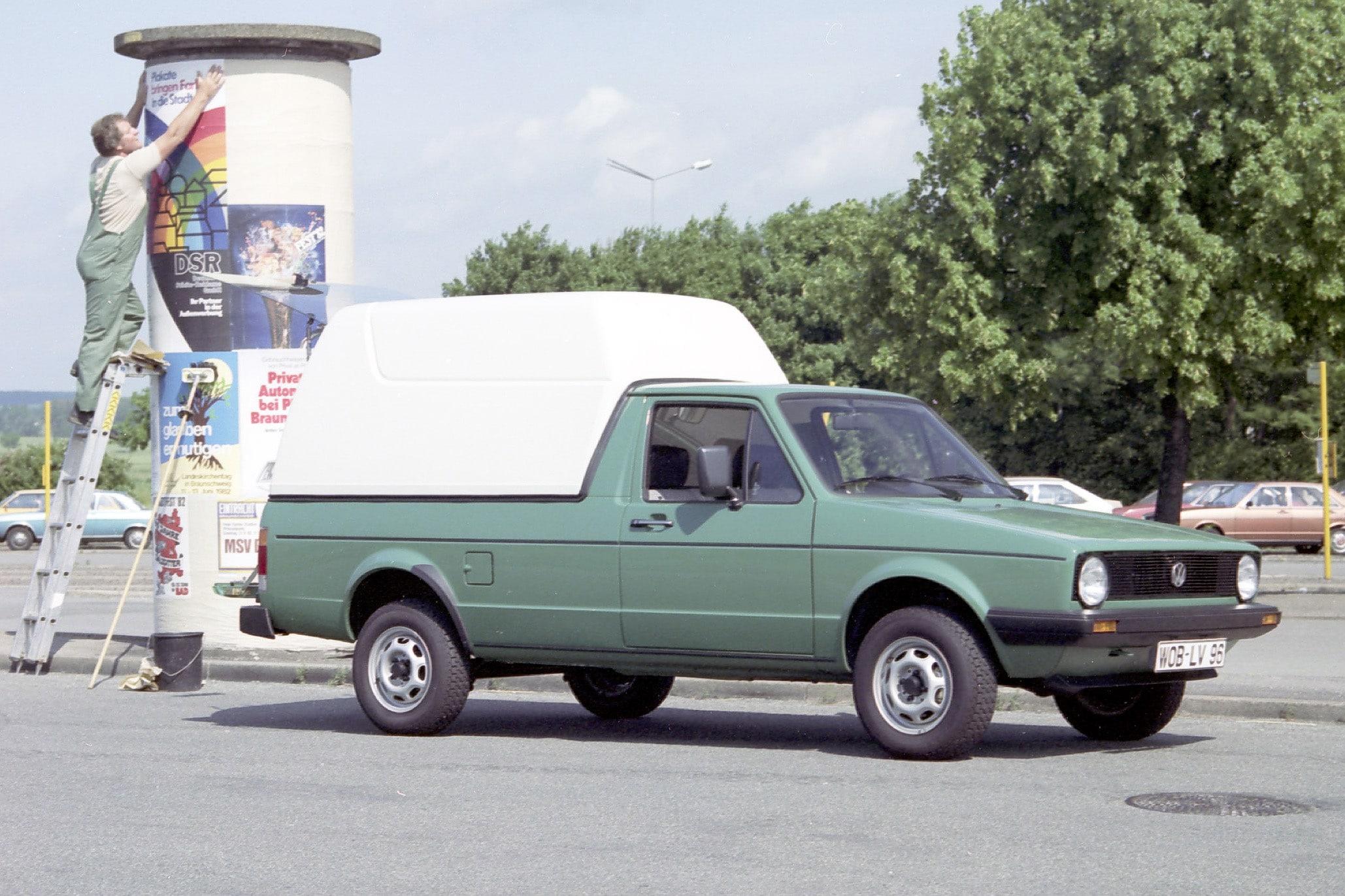 Inspektion bei einem VW Caddy I