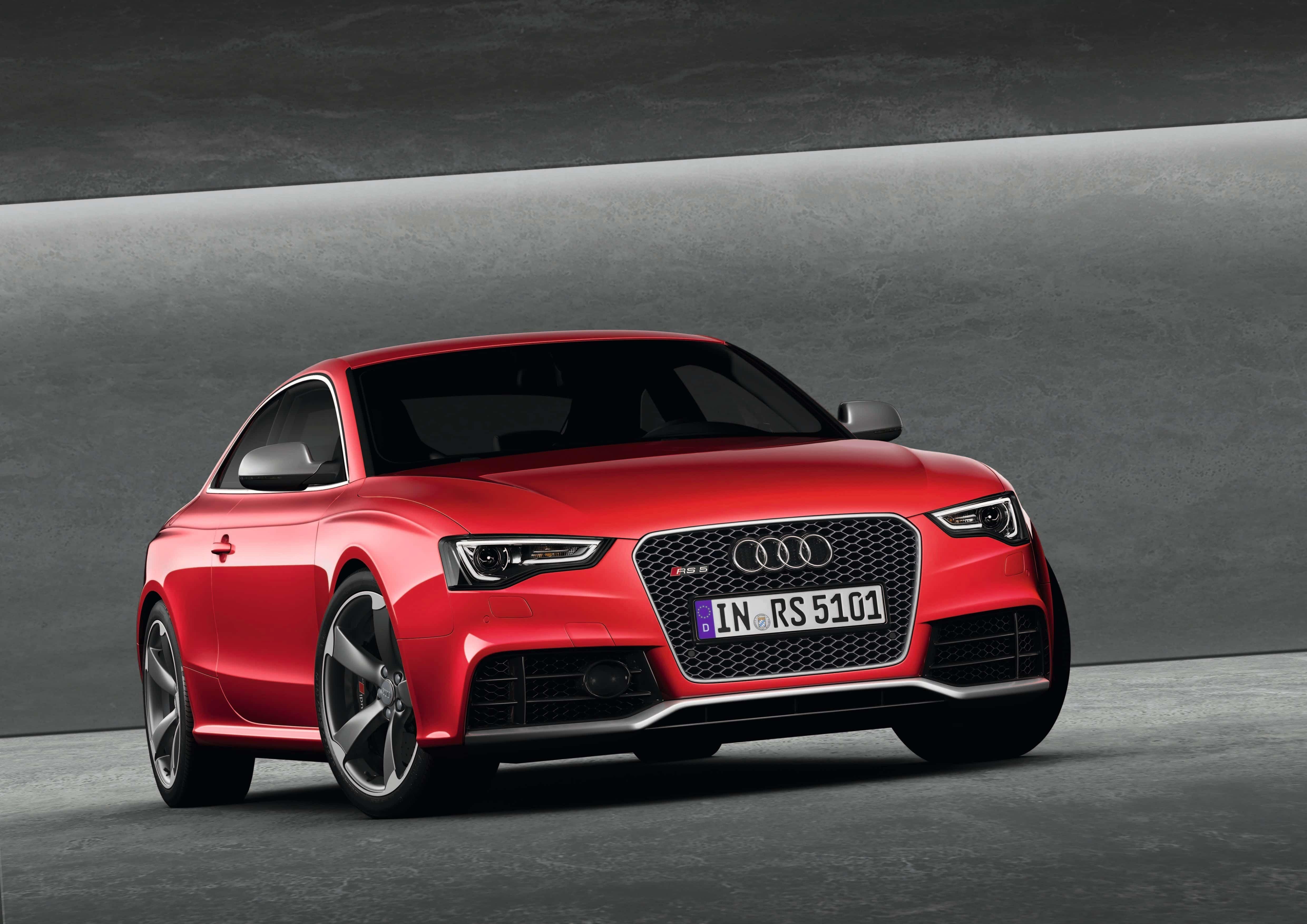 Inspektion bei einem Audi A5