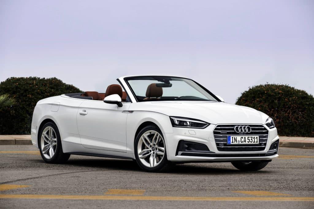 Audi A5 Coupe (F53), Audi A5 Cabriolet (F57), Audi A5 Sportback (F5A)