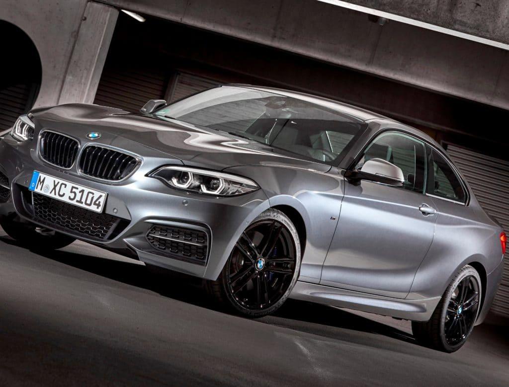 Inspektion bei einem BMW 2er