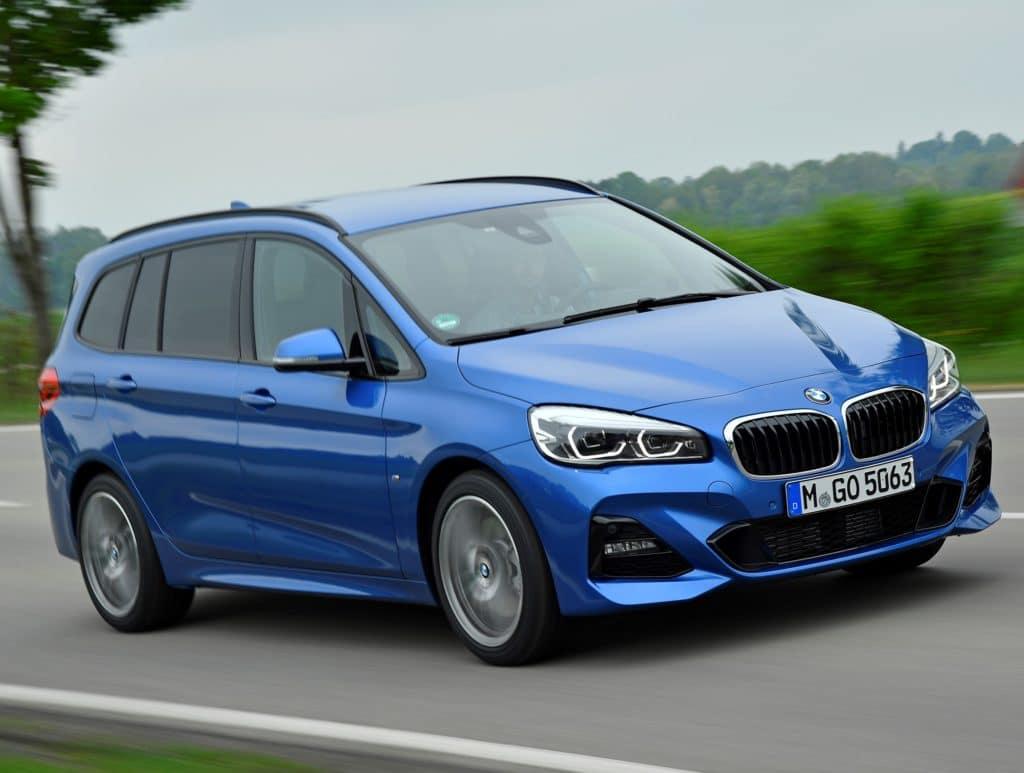 Inspelktion bei einem BMW 2er