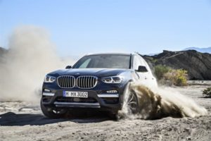Inspektion bei einem BMW X3