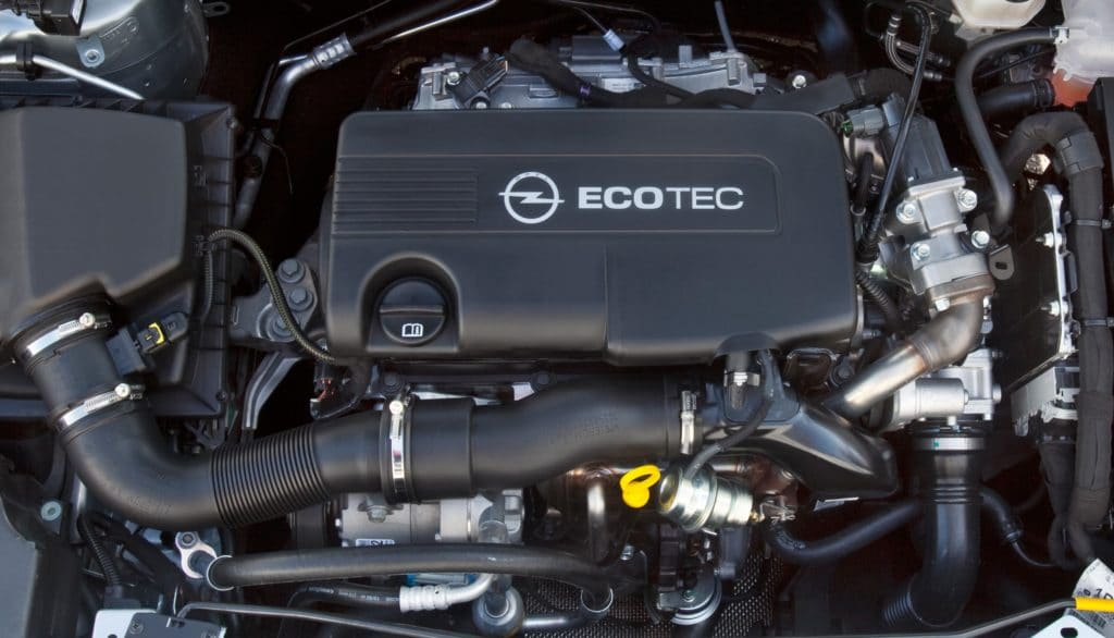 Inspektion bei einem Opel Astra J
