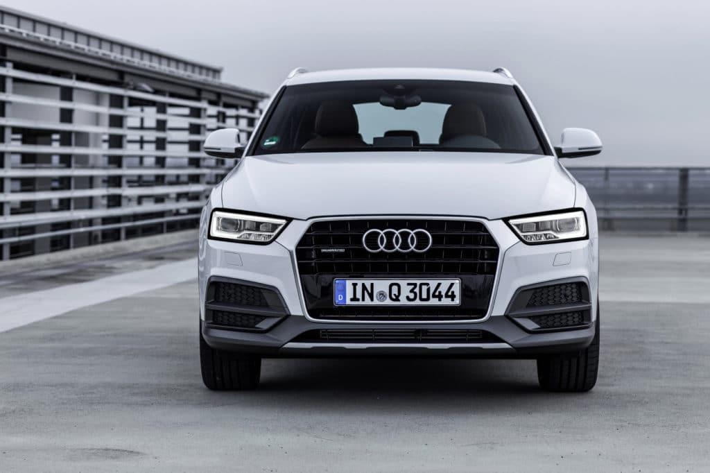 Inspektion bei einem Audi Q3