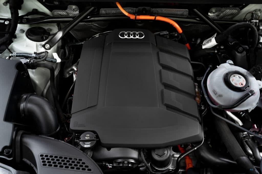 Inspektion beim Audi Q5 Typ FY von 2019