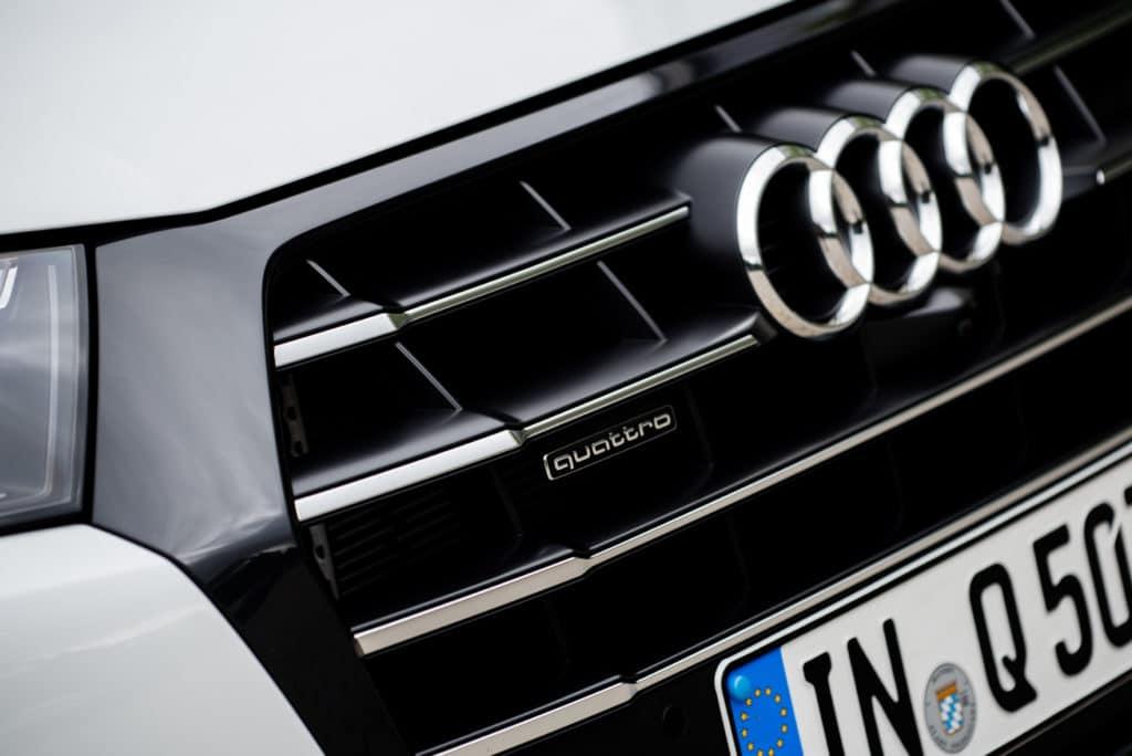 Inspektion beim Audi Q5 Typ FY
