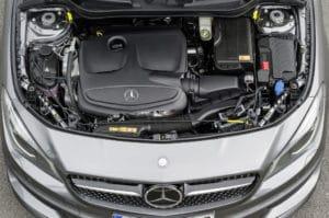 Inspektion bei der Mercedes CLA-KLasse