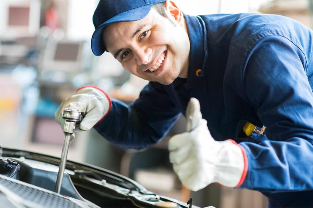 Inspektionen beim Fiat Punto können in allen Kfz-Werkstätten durchgeführt werden