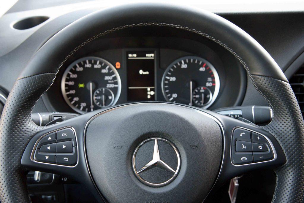 Die Inspektionsintervalle beim Mercedes Vito sind flexibel