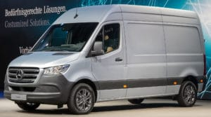 mercedes sprinter-klasse