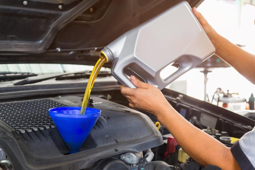Ölwechsel Mazda 626