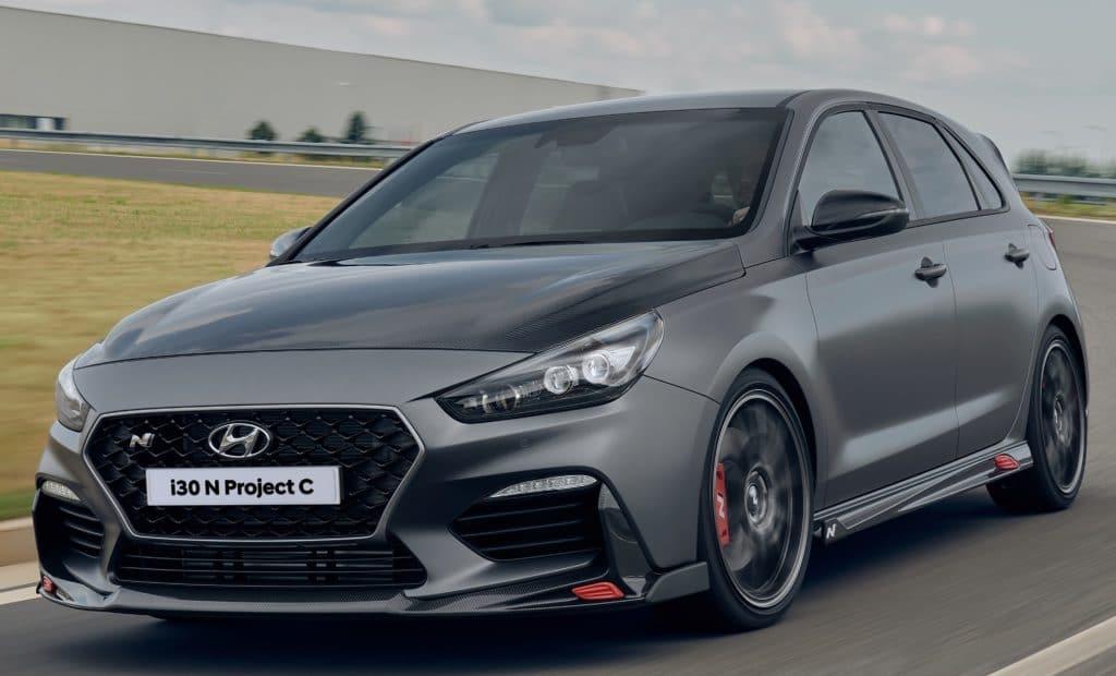 Inspektion eines Hyundai i30 N von 2019