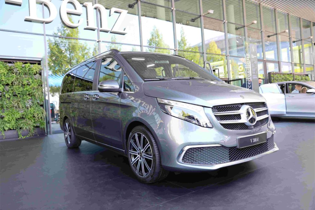 Inspektionen bei der Mercedes-Benz V-Klasse können in allen Kfz-Werkstätten durchgeführt werden