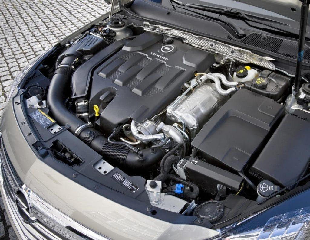 Inspektion bei einem Opel Insignia A vom Typ G09