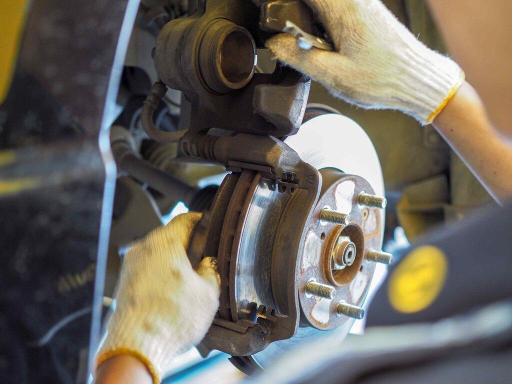 Bremsenwechsel beim Ford Fusion
