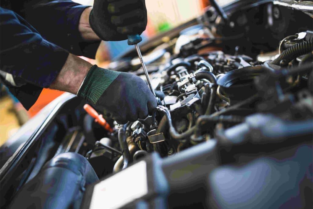 Inspektionen beim VW Crafter können in jeder Kfz-Werkstatt durchgeführt werden
