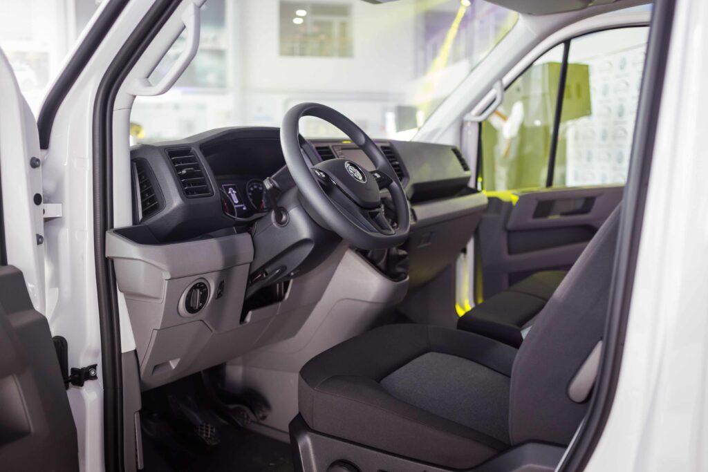 Der VW Crafter benötigt alle 12 Monate eine Inspektion