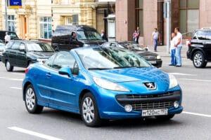 Bremsenwechsel bei einem Peugeot 207