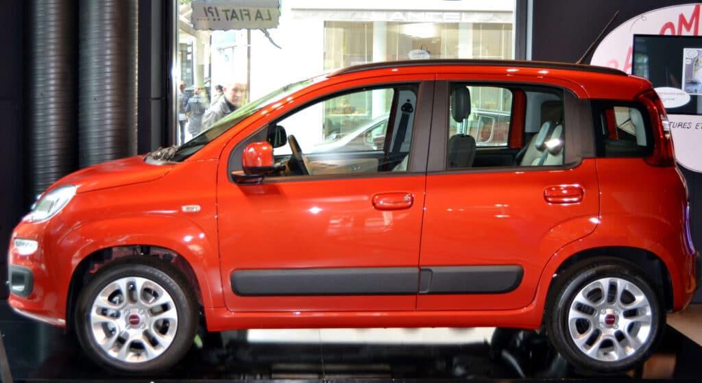 Bremsenwechsel an der Hinterachse beim Fiat Panda