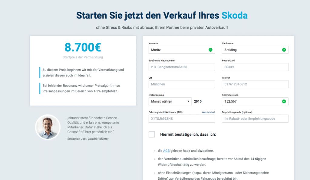 Pkw Schatzen Wert Des Autos Online Kostenlos Ermitteln