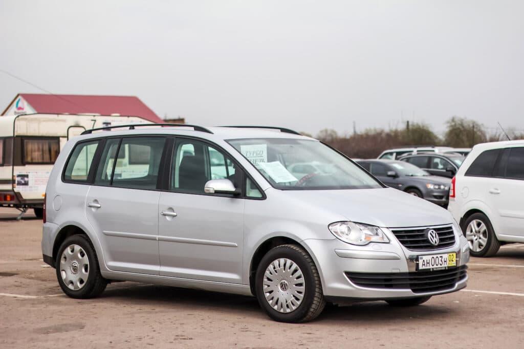 Anhängerkupplungwechsel VW Touran