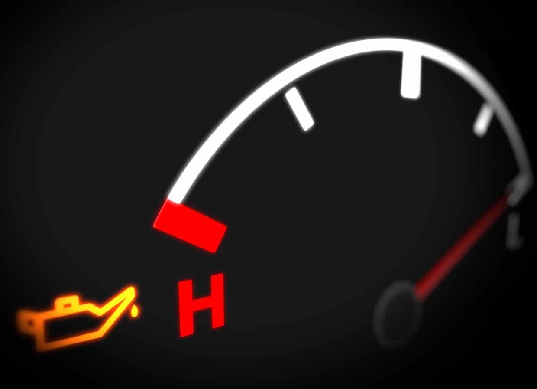 Anzeichen für einen kaputten Öldruckschalter - Öldruck Warnleuchte