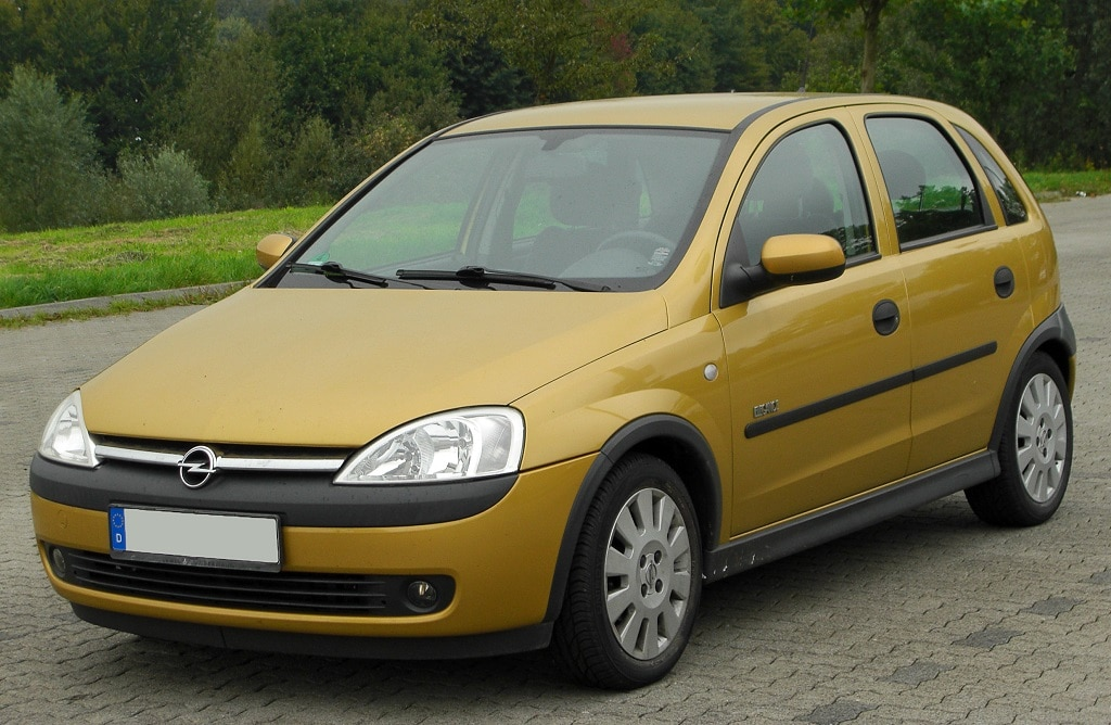 Zahnriemenwechsel beim Opel Corsa C