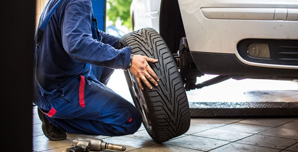 Reifen wechseln Kfz-Werkstatt
