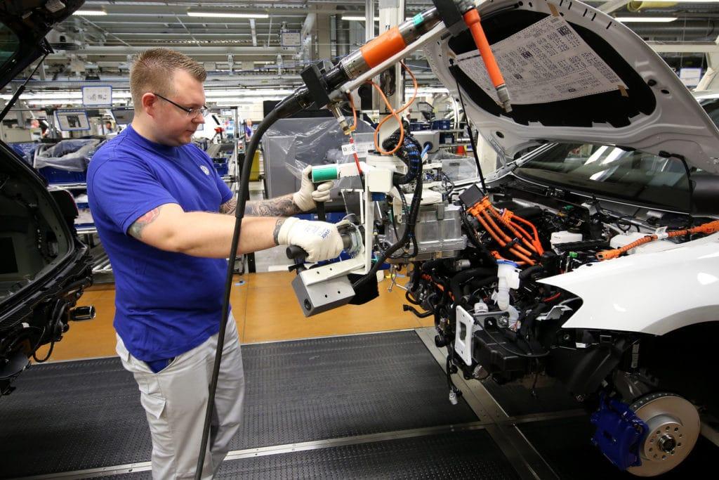 VW Eos Zahnriemenwechsel Werk Wolfsburg