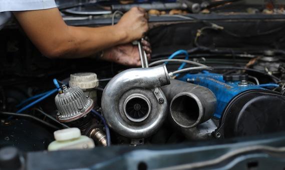 die repareo Turbolader Sektion mit Überholung und Reparatur