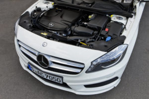 Inspektion bei einer Mercedes A-Klasse Typ W176