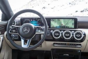 Inspektion bei einer Mercedes A-Klasse