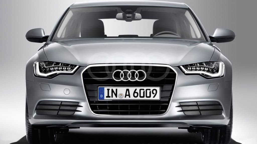 Inspektion bei einem Audi A6 der Generation C7