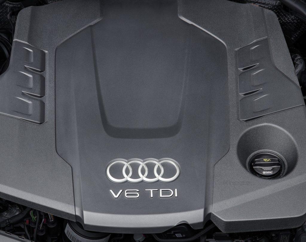 Inspektion bei einem Audi A6 der Bauphase C7