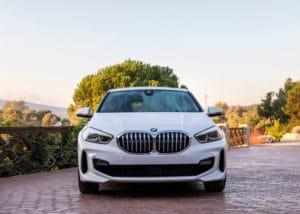 Inspektion bei einem BMW 1er vom Typ F40
