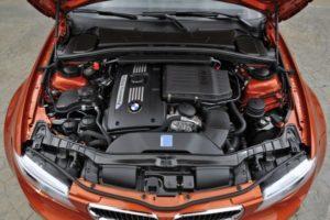 Inspektion bei einem BMW 1er Coupé