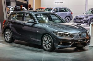 Inspektion bei einem BMW 1er von 2015