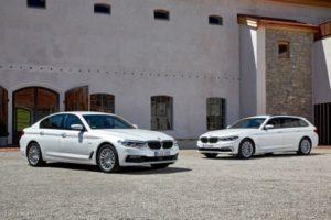 Inspektion bei einem BMW 5er