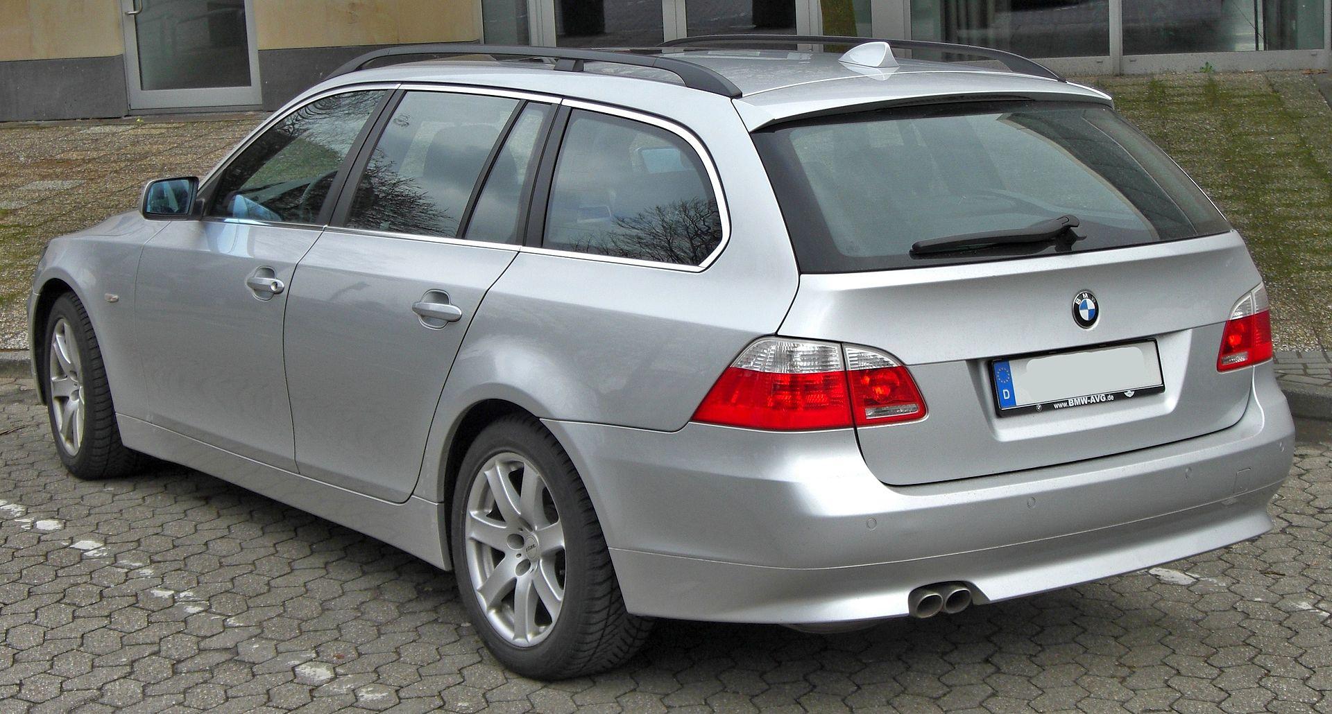 Inspektion bei einem BMW 5er Typ E61
