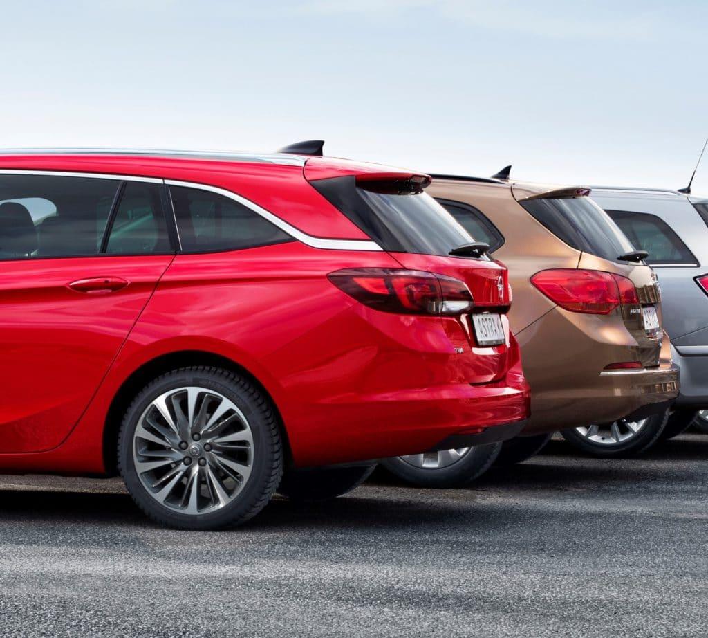 Inspektion bei einem Opel Astra K