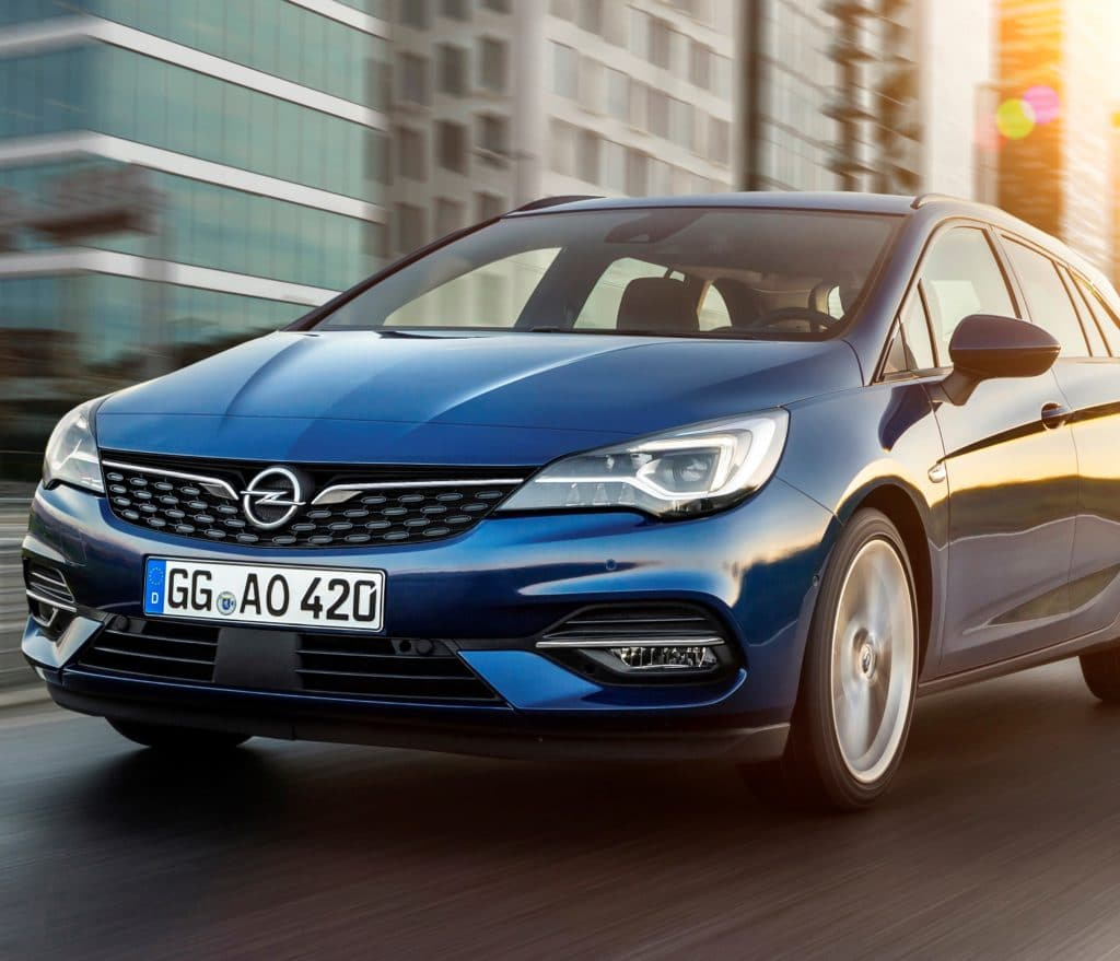 Inspektion bei einem Opel Astra K Sports Tourer 2019