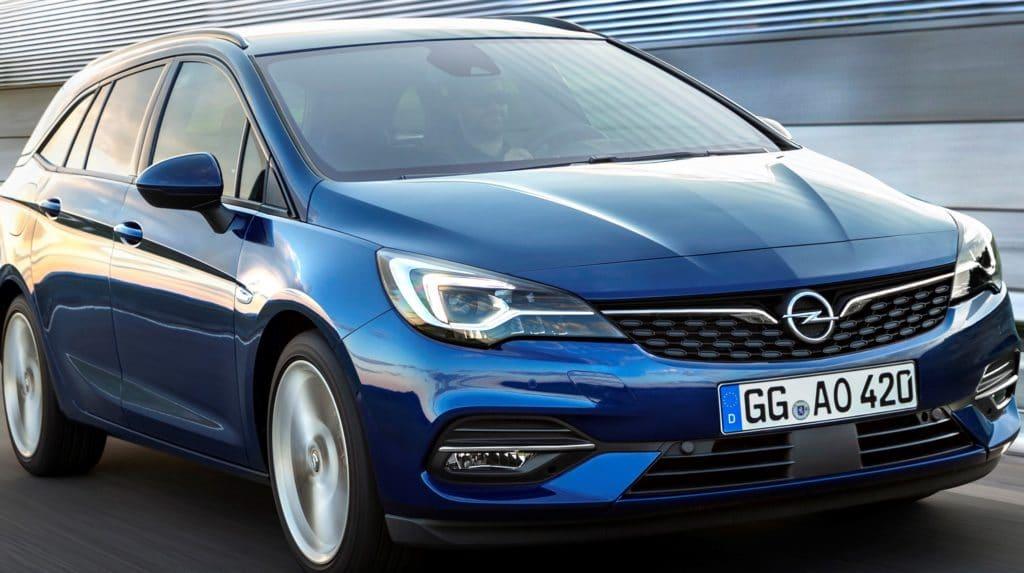Opel  Astra K, Opel Astra K Sports Tourer (B16) 1.6 CDTI